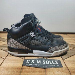 Nike Air Jordan SPIZIKE Shoes Black And Grey